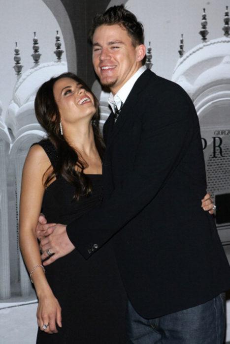 Channing tattum y su esposa