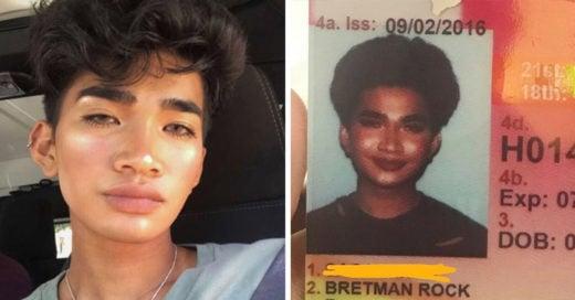 Chico hizo 'Makeup Goal' para su licencia de conducir; jamás imaginó el resultado