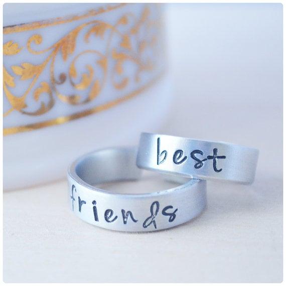anillos para chicas que son mejores amigas