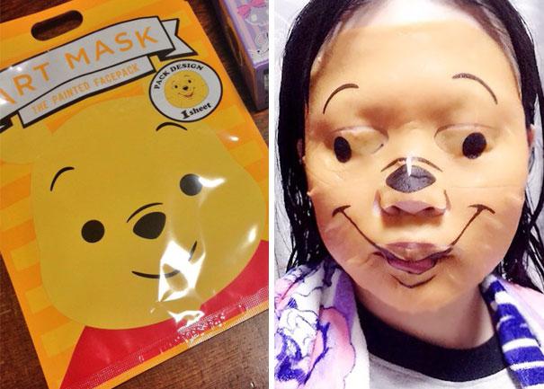 Mascara de winne pooh