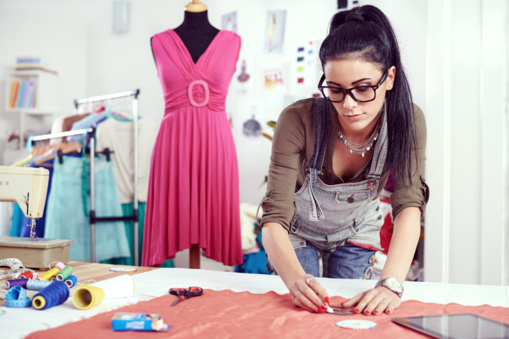 diseñadora de modas