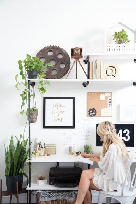 escritorio sofisticado