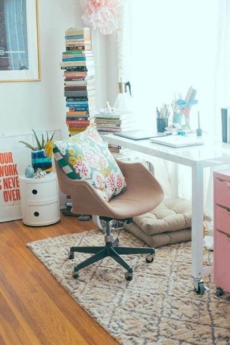 escritorio comodo