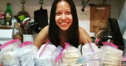 Esta madre decidió donar su leche luego de que su bebé muriera