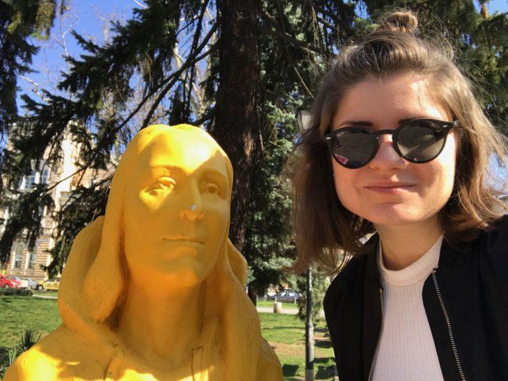 Estatua Sofía Bulgaria