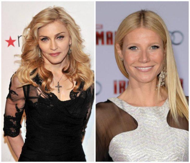 Madonna y Gwyneth Paltrow