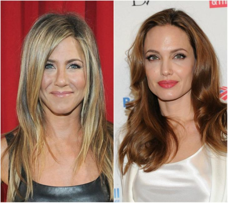 Jenifer Aniston y Angelina Jolie