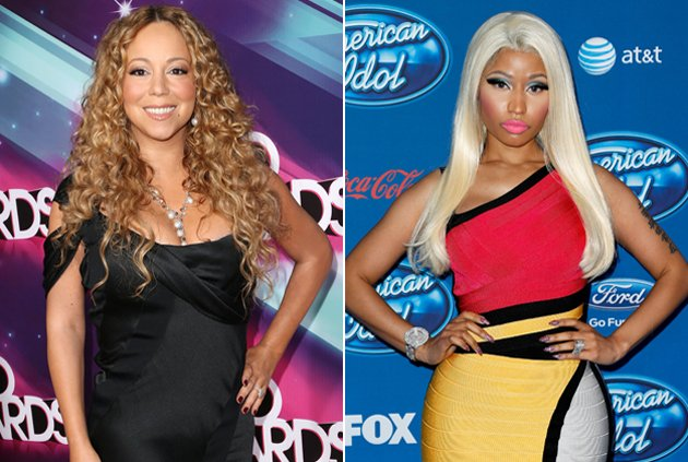 Mariah Carey y Nicki Minaj