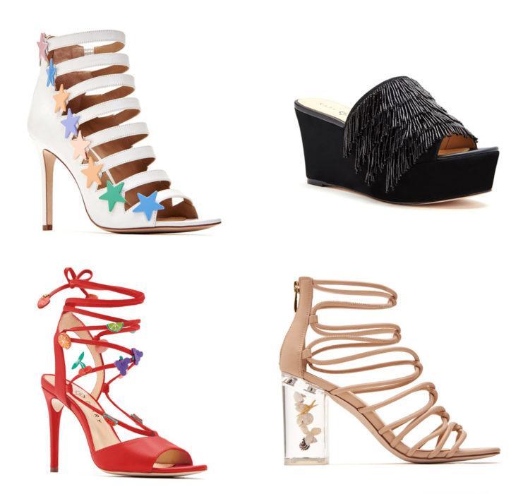 Zapatos de Katy perry en diferentes diseños