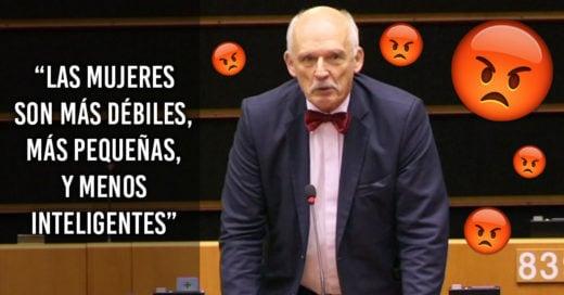 """""""Las mujeres deben ganar menos porque son más débiles y menos inteligentes""""; asegura eurodiputado"""