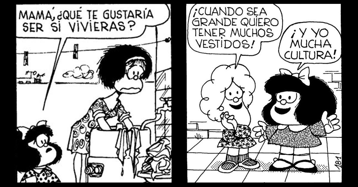 10 Frases feministas que aprendimos de Mafalda