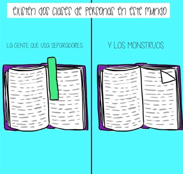 monstruos con libros