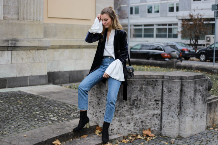 satín y jeans