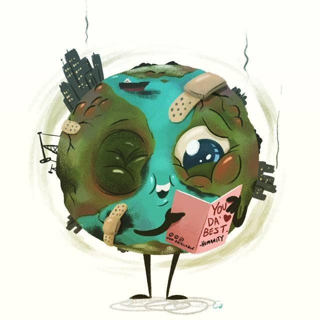 Mundo deteriorado