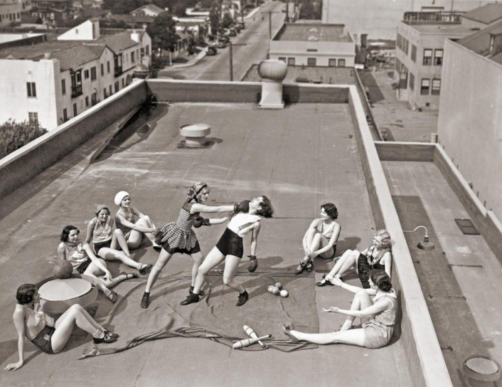 chicas boxeadoras