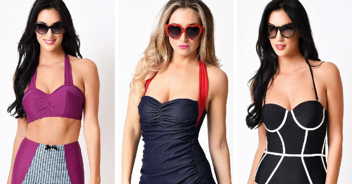 ff3ca8f76722 20 trajes de baño y bikinis para las chicas de alma retro