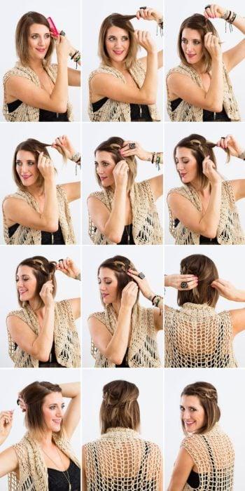 pasos para peinado