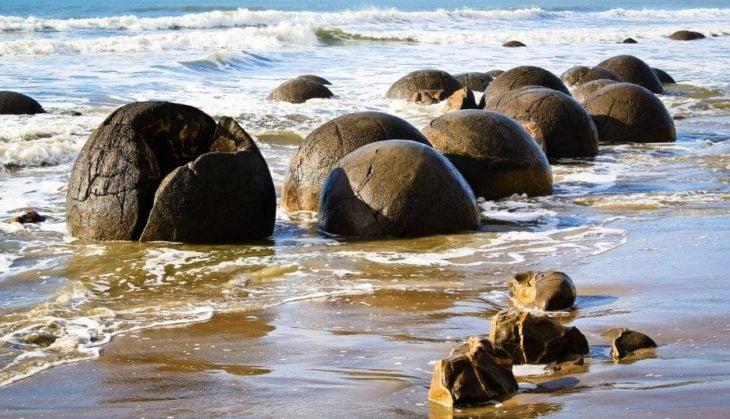Playa Moeraki Boulders