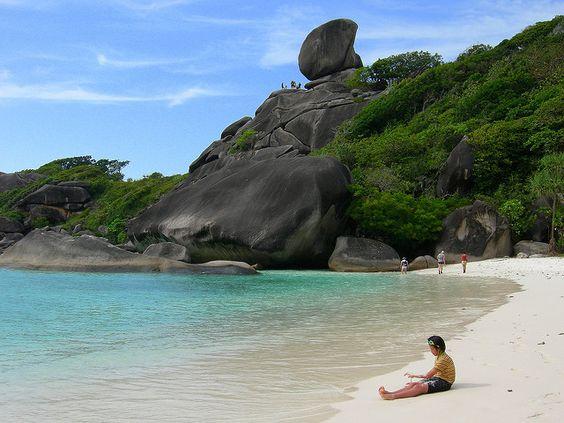 isla similan tailandia