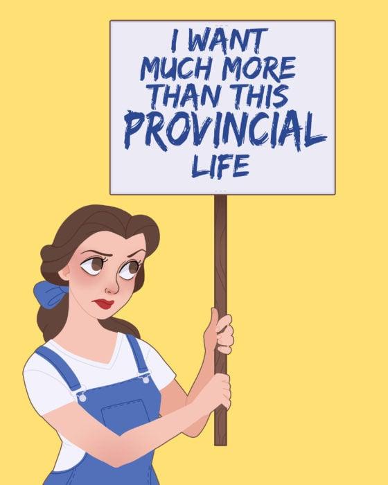Princesas de Disney con un mensaje feminista