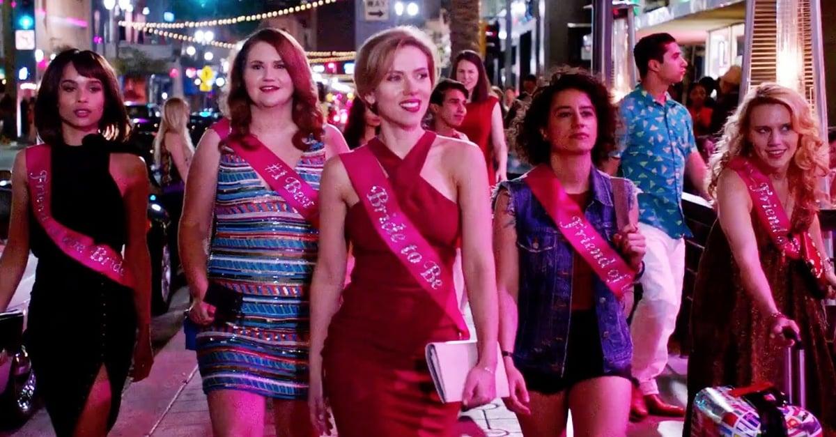 Scarlett Johansson y su séquito de la muerte llevan la fiesta a otro nivel en el trailer de Rough Night