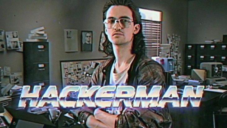 Imagen de un hombre hacker