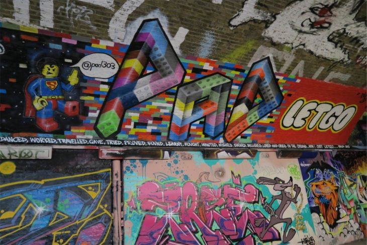Túnel Graffiti Londres