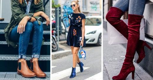 Tipos de botas que debes usar según tu tipo de cuerpo