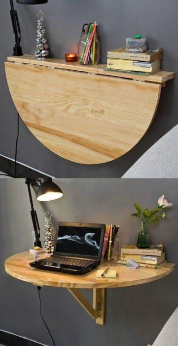 escritorio media luna