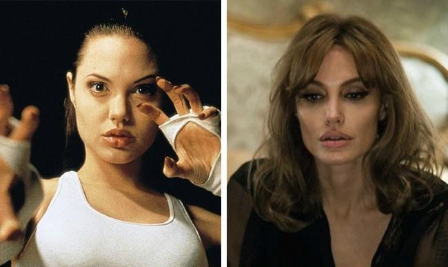 angelina jolie antes y después pelis