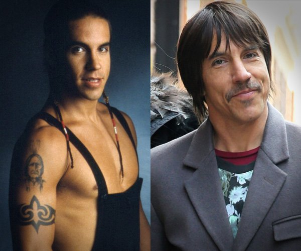 anthony kiedis and the red hot About vocalist for the red hot chili peppers along with band mates flea, chad smith, and josh klinghofferthe band has received seven grammy awards and is known for such hit songs as scar tissue, otherside and give it away.
