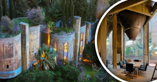Este arquitecto uso su gran imaginación para remodelar una fabrica de cemento