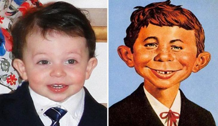 Bbés que se parecen a los famosos
