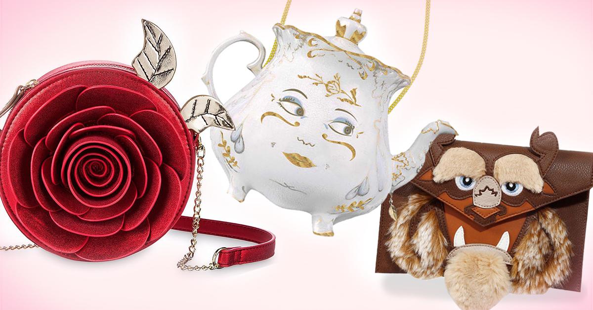Lanzan colección de bolsos inspirados en 'La Bella y la Bestia'; son un sueño hecho realidad