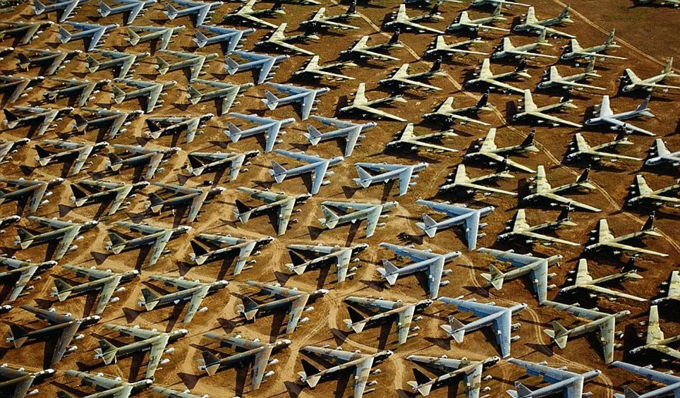 cementerio de aviones arizona usa