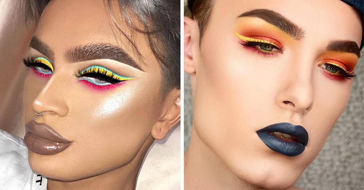 10 Chicos que demuestran que maquillarse ya no es exclusivo para las mujeres