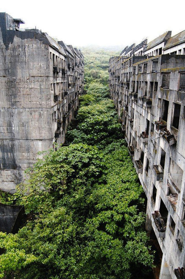 ciudad abandonada de keeloung, taiwan