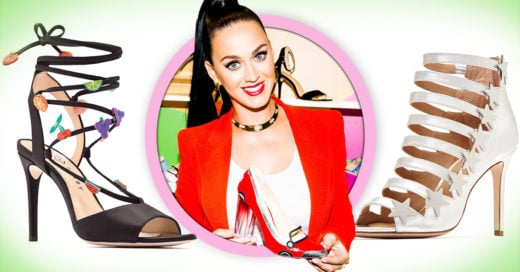 Katy Perry realiza su 'teenage dream' y lanza su primera colección de zapatos; ¡son perfectos!