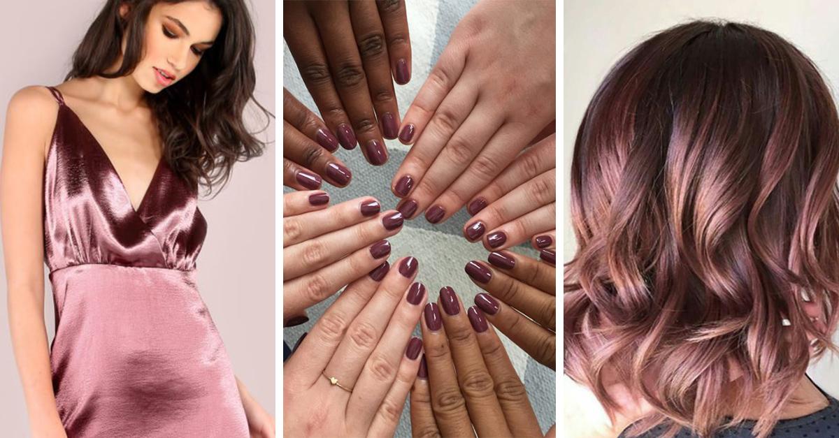 17 OBVIAS razones por las que el color malva es el color que le queda a todo tipo de chica