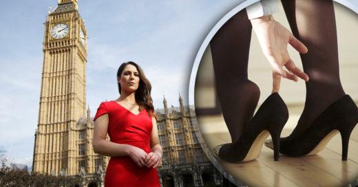 ¡Adiós a los códigos de vestimenta sexistas! Los diputados británicos discuten el uso de los tacones