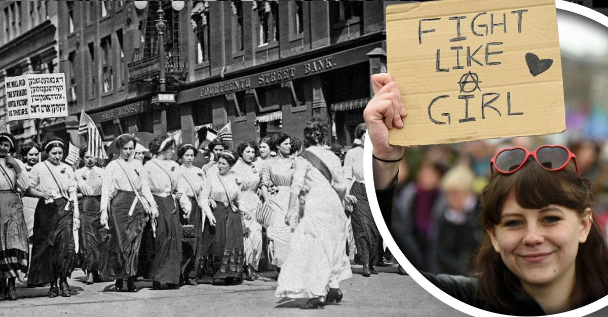 La igualdad no es una utopía... Nada que festejar en el Día Internacional de la Mujer