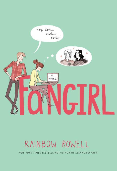 portada de libro fangirl