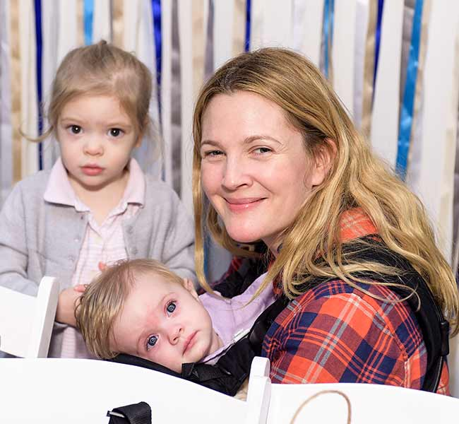 drew barrimore and her kids