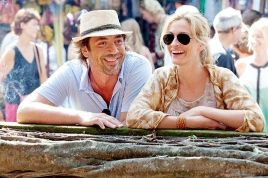 eat pray love los dos riendo