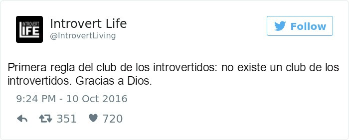 tweet el club de los introvertidos
