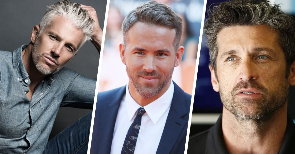 20 Famosos de cabello plateado con los que saldrías aunque te doblen la edad