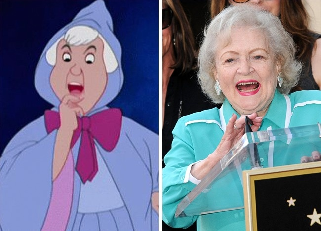Hada madrina igual a betty white