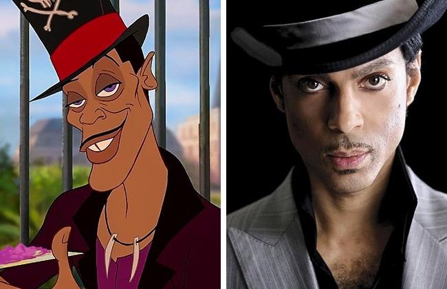 Prince igual a un personaje de Disney