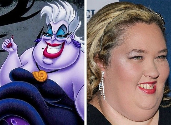 Ursula igual a la mamá de Honey Boboo