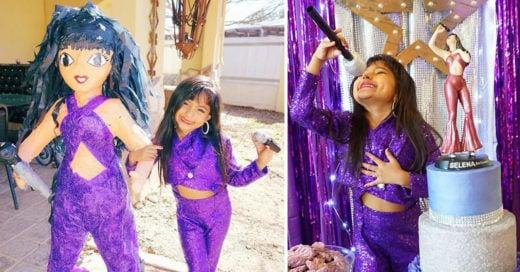 "Tuvo una fiesta ""Bidi Bidi Birthday"" inspirada en Selena; ¡Todos morimos de envidia!"